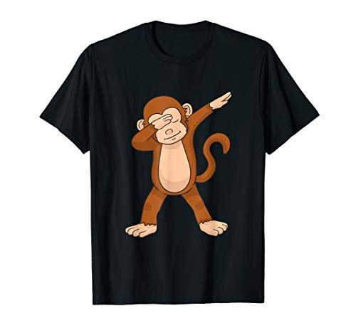 (Dabbing Monkey T-Shirt Funny Dab)