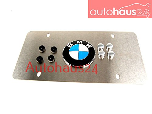 BMW Stainless Steel License Plate Frame with