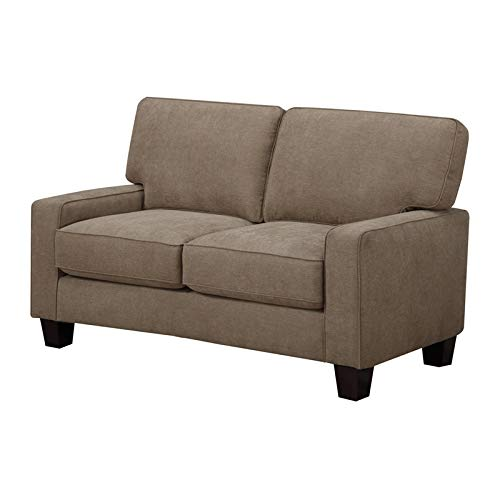 Tan Fabric Loveseat - Truly Home UPH10106C Andrew, 61