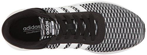 adidas NEO mujer Cloudfoam Carrera W Running Shoe Negro/Blanco/Negro
