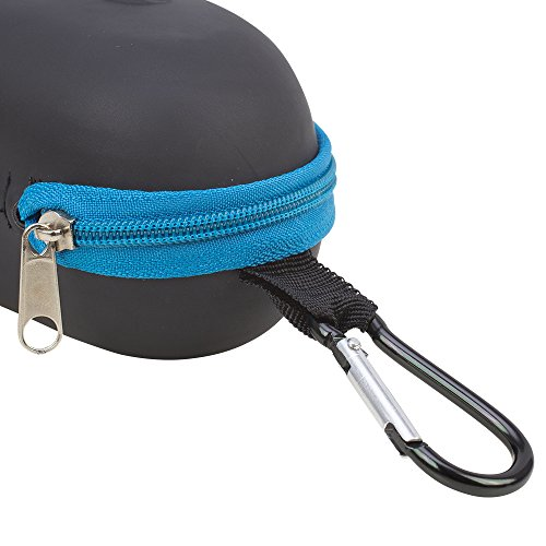 Waterproof-Sunglasses-and-Eyeglasses-Case-Durable-Hard-EVA-Zippered-Glasses-Holder-with-Back-Pack-Clip-by-Splaqua
