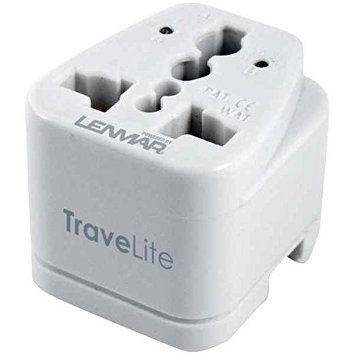 TraveLite Ultra-Compact All-In-One Travel Adapter (Supply Ac Lenmar Power)