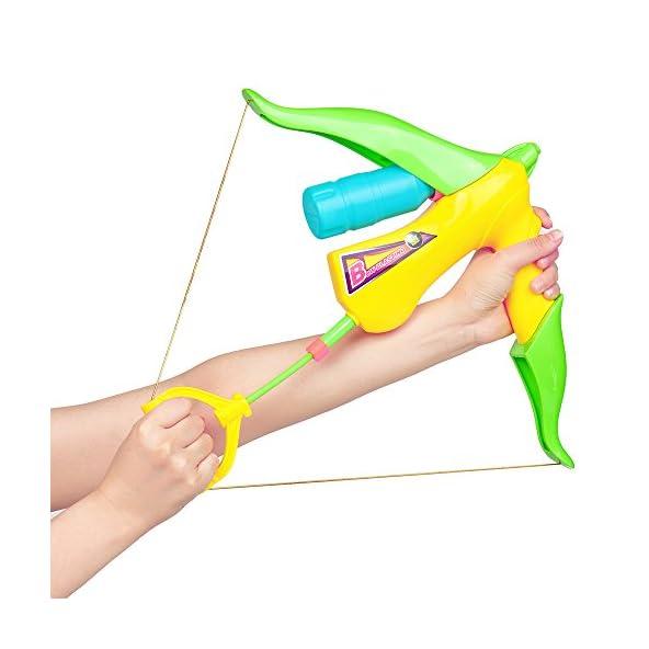 RISHIL WORLD Cikoo Gun Toy Bow Arrow Spray Water Summer Outdoor Adult Boy Girl Play Water Beach Play Toys