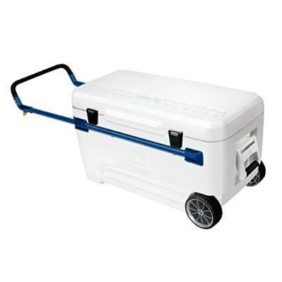 Igloo Glide Marine Ultra Cooler (White/Blue, 110-Quart)