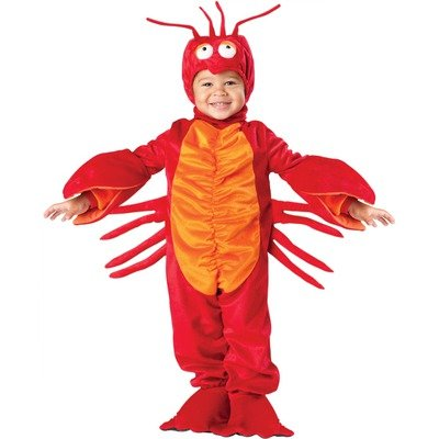 Little Boys' Lil Lobster Costume - M