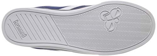 Basses Adulte Bleu Sneakers Nile vintage Hummel 8588 Indigo Mixte Canvas Low wqInA4