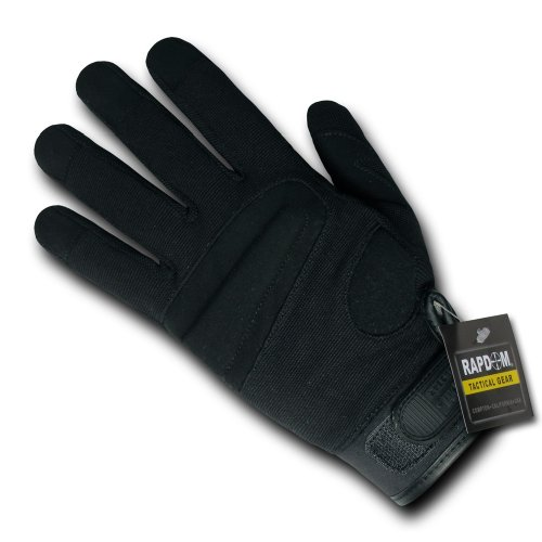 (RAPDOM Tactical Sniper Level 5 Gloves, Black, Small)