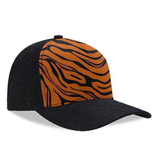 - YongColer Kids Classic Polo Style Baseball Cap Tiger Stripe Animal Tech Cap, Moisture Wicking Breathable Dad Cap Trucker Hat Hip-Pop Relaxed Fit Casquette Cap for Running/Sports