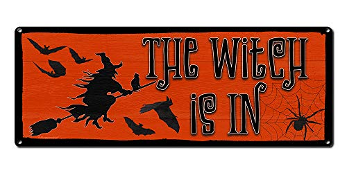 The Witch is in ~ Halloween Theme Wall