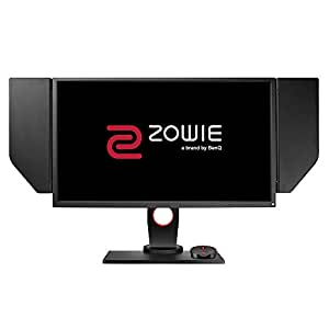 "BenQ ZOWIE 24.5"" 1080p LED Full HD 240Hz eSports Monitor with Black eQualizer, Height Adjustable Stand, Color Vibrance, S Switch, Shield (XL2540)"