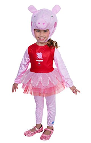 Peppa Pig Ballerina Costume, 3-4T (Kids Peppa Pig Costume)