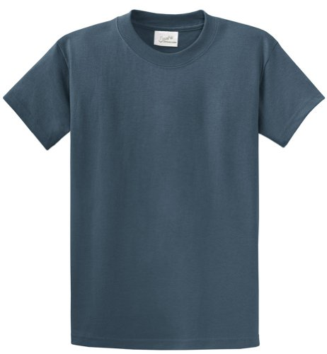 Joe's USA(tm - Heavyweight 6.1-Ounce, 100% Cotton T-Shirts in Size S Steel -