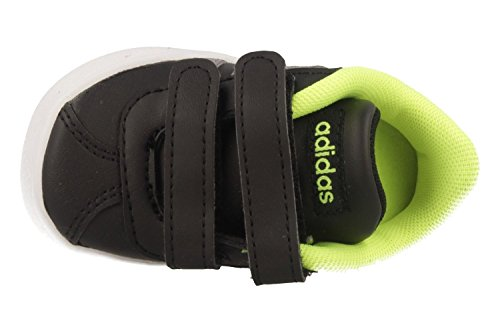 Adidas VL Court 2.0CMF I–Tennisschuh,, Kinder Schwarz