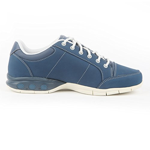 Therafit Shoe Womens London Leather Active Oxford Walking Shoe Navy rH4qf8b3