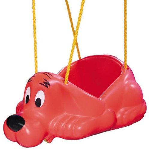 Clifford - The Big Red Dog Clifford Swing Seat Red by Swing-N-Slide