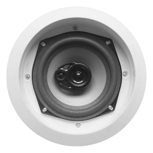Acoustic Audio CS-IC53 250 Watt In Ceiling Speaker 3-Way Home Theater, White by Acoustic Audio by Goldwood
