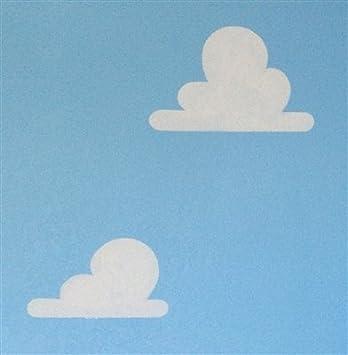 Amazon Com Cloud Stencil Set For Wall Decor Reusable Stencils