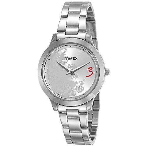 Timex Fashion Analog Silver Dial Women #39;s Watch   TI000T60000