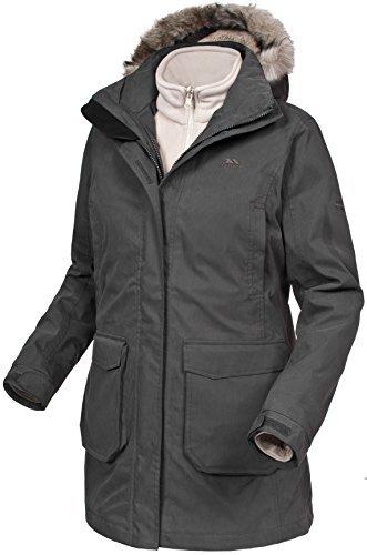 Ladies Blizzard 3-1 Jacket Khaki/Sandy