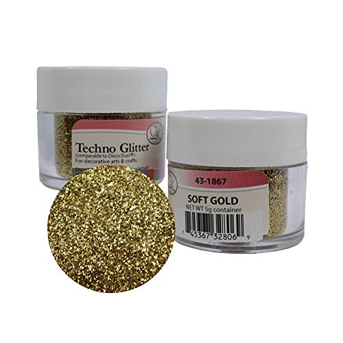 Price comparison product image Techno Glitter - Soft Gold 2Pack