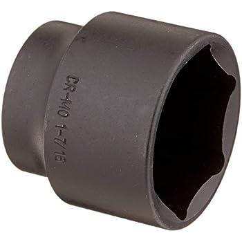"1/"" Drive SAE Deep Impact Socket 1-7//16/"" Hex 3.5/"" length"