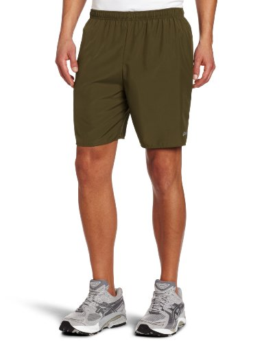 Asics Men's Core Pocketed Short (Tarmac, (Asics Core Running Short)