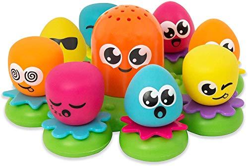 TOMY E2756 Octopals Badspeelgoed, Meerkleurig