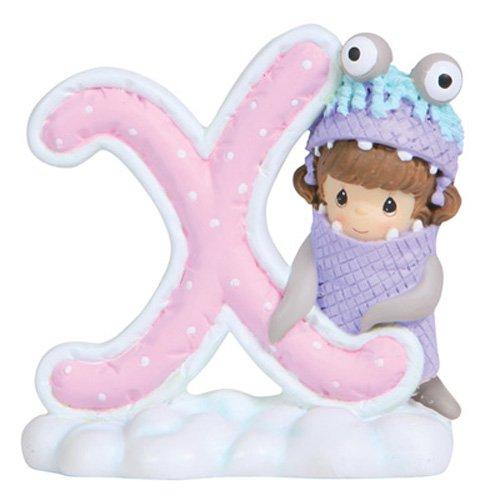 Precious Moments Alphabet Letter - Precious Moments, Disney Showcase Collection, Alphabet Letter X, Resin Figurine, 114468