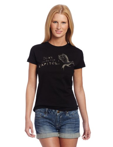 Hunger Games-Catching Fire-Down With Capitol T-Shirt