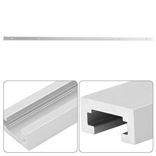 Premium High Strength Aluminum Alloy T-Track Slot Miter, T-Track Slide Slab, for Band Saws Routers(1m T slot)