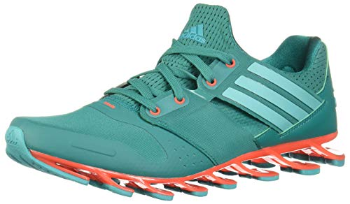 adidas AF6800 tenis para Hombre, Springblade Solyce, color Aqua/Rojo Solar, 26