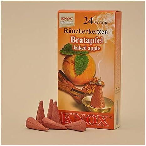 DDR Traditionsprodukte DDR Waren Ostprodukte-Versand.de Knox R/äucherkerzen Tannenduft