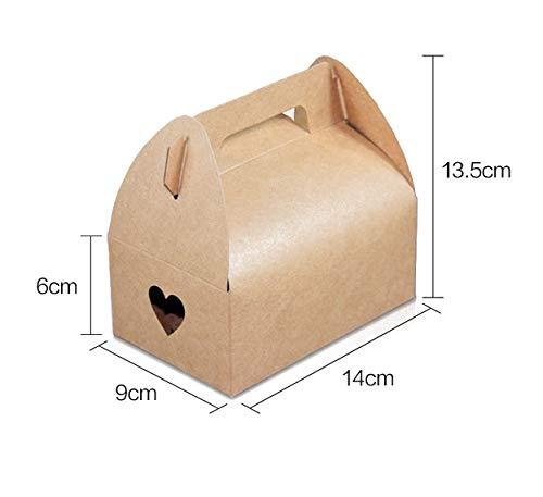 Amazon.com: Mannily - 20 bolsas de papel de galletas de ...