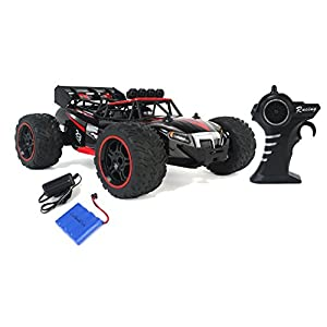Gallop Ghost Top Speed Remote Control 2.4 GHz RC Red Toy Buggy Car 1:14 Scale Size Ready To Run w/ Working Suspension, Spring Shock Absorbers