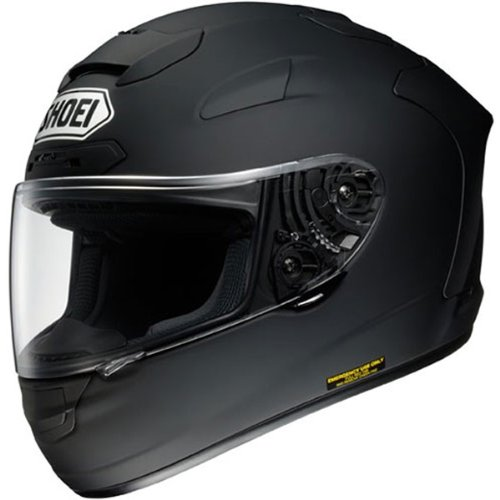 Shoei Solid X-Twelve Street Bike Motorcycle Helmet - Matte Black - Medium