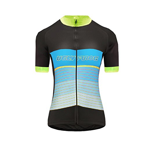 hirt Lightweight Sports T-Shirt Cycling Quick-Dry Short Sleeve Women's Performance Training T- Shirt Top ()