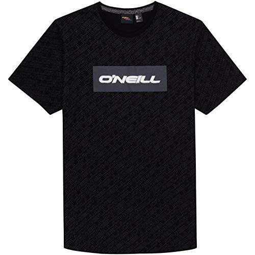 Hombre Black ONEILL LM All Over Print Camiseta Manga Corta XL