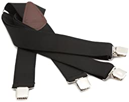 Carhartt Men\'s Utility Suspender,Black,One Size