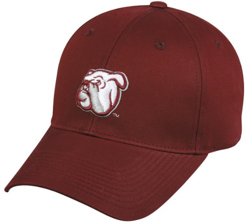 Mississippi State Bulldogs YOUTH Adjustable Velcro Cap/Hat NCAA Officially Licensed (Licensed Ncaa College Cap Hat)