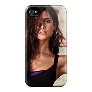 Mialisabblake Scratch-free Phone Case For Iphone 4/4s- Retail Packaging - Brunettes Girls Carla Ossa