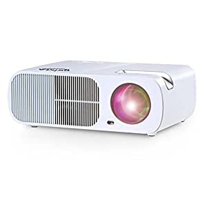 Ogima BL20 Video Projector,2600 Lumens Home Cinema Theater 5.0 Inch LCD TFT Display Support 1080P HD 3D with 1-year warranty