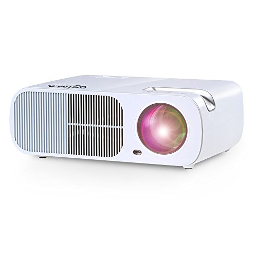 OGIMA BL20 Video Projector,2600 Lumens Home Cinema Theater 5.0 Inch LCD TFT Display Support 1080P HD 3D with 1-year warranty by OGIMA