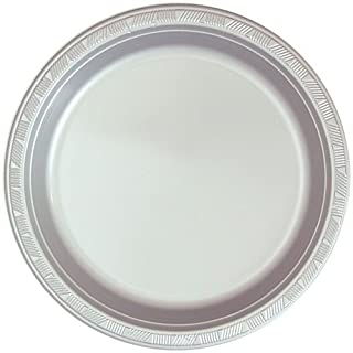 Hanna K. Signature Collection 50 Count Plastic Plate, 10-Inch, Silver (B0053KIUOK) | Amazon Products