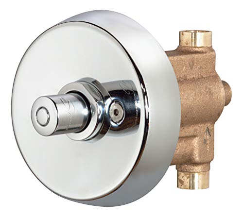 Symmons 4-420-TRM Showeroff Single Push-Button Metering Valve Trim (Valve Not Included) ()