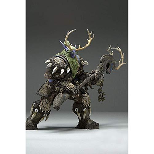 Yjkegjvdgf World of Warcraft Night Elf Druid Hand Anime Model/Souvenir/Collection/Crafts (Color : -, Size : -)