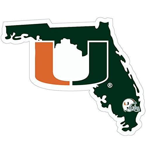 - NCAA Miami Hurricanes Home State Decal, 5