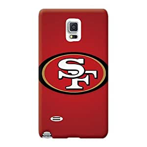 Durable Hard Phone Covers For Samsung Galaxy Note 4 (NWG2503MrlO) Unique Design Fashion San Francisco 49ers 4 Image