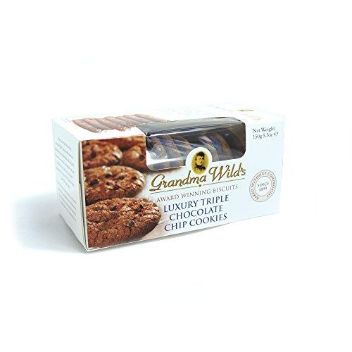 - Luxury Triple Chocolate Chip Cookies by Grandma Wild's (150 gram)