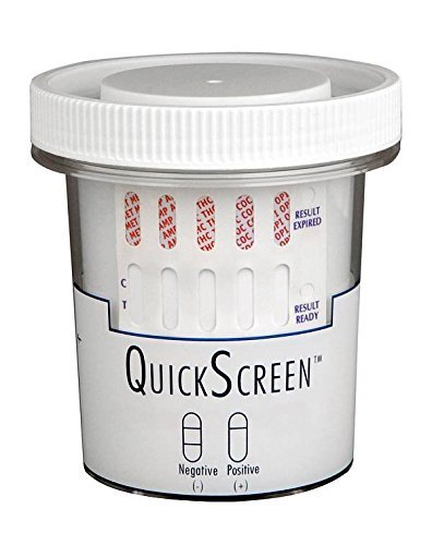 QuickScreen-5-Panel-Urine-Drug-Test-Kit-Made-In-The-USA-CLIA-Waived-100CocaineMarijuanaMethamphetamines500AmphetaminesOpiates2000Multiple-Quantities