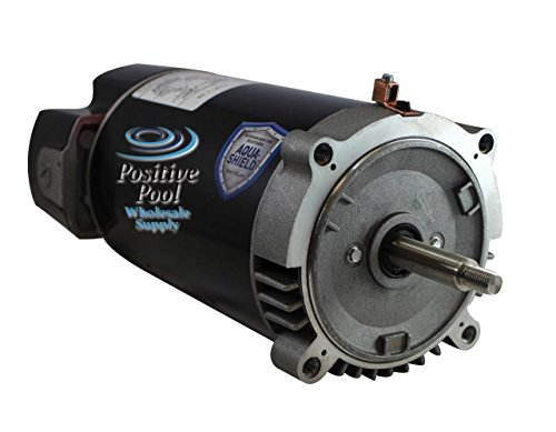 US Motors 1.25 Total HorsePower Standard 56J C-Flange Replacement Swimming Pool Pump Motor - AST125 (56j Motor Replacement)